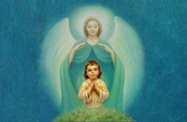 Молитва до Ангела Хоронителя, про захист дитини в день і вночі.