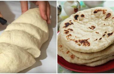 Незвичайний турецький хліб базлама на кефірі.  Про магазинний можна забути.