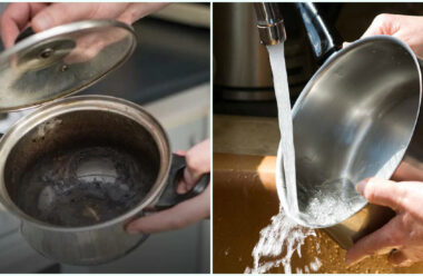 Дієві способи, які допоможуть очистити пригорілу каструлю