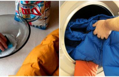 Поради, для чищення та прання пуховиків в домашніх умовах.