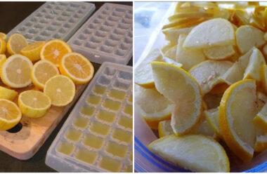 Заморозьте лимон, та забудьте про багато захворювань. Як зробити лимонний лід.