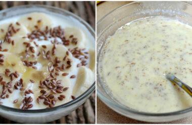 Напій з кефіру і насіння льону: натуральний засіб від гастриту. Як правильно вживати.