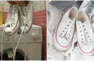 Як правильно прати кросівки в пральній машинці, щоб вони були як нові.