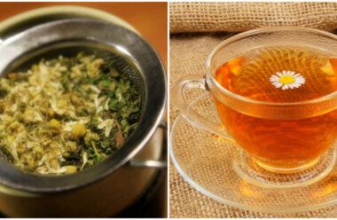 Ромашковий чай — допомагає боротися з застудою та іншими хворобами.