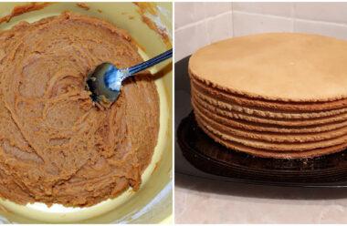 Як спекти смачні та ніжні коржі для торта — Медовик. Господині на замітку.