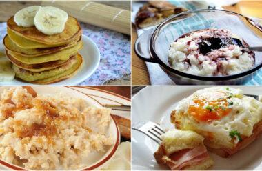 7 смачних рецептів для сніданку на кожен день. Тепер не треба думати що готовити зранку